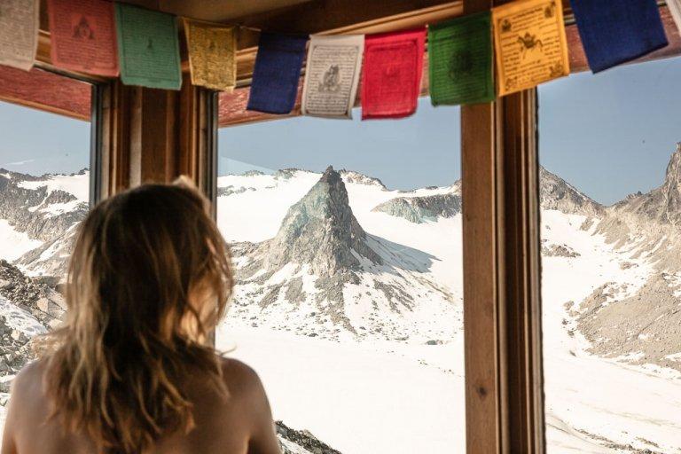 Snowbird Hut, Hatcher Pass, Alaska