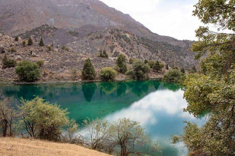 Timur Dara Lake, Shimkent, Sughd, Fann Mountains