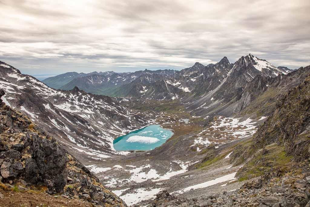 Alaska, Hatcher Pass, Bomber Traverse, Talkeetnas, Talkeetna Mountains, Upper Reed Lake, Reed Lakes, Reed Lakes Alaska,