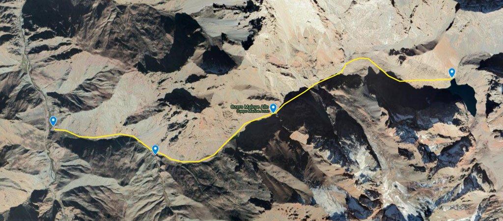 Bolshoi Allo to Archamaidon Map