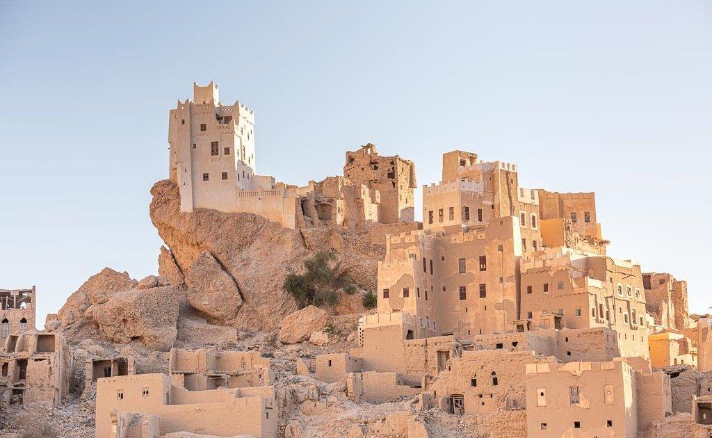 Qarn Majid, Qarn Majid Yemen, Wadi Doan, Wadi Hadhramaut, Hadhramaut, Yemen, Husn Fort, Wadi Daw'an