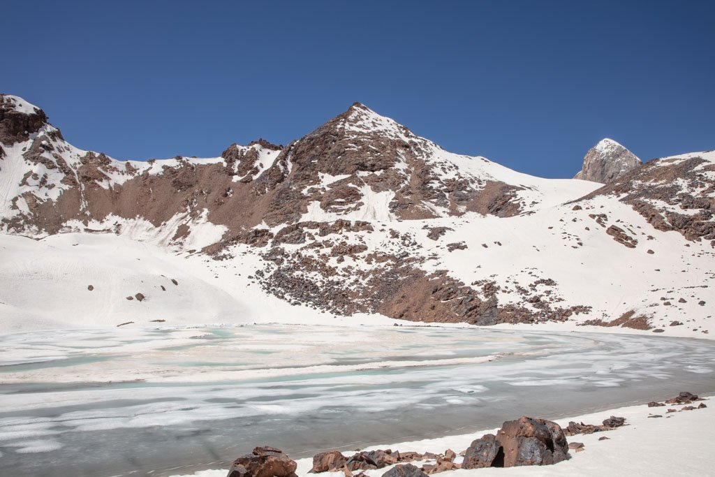Lake Biriuzavnoe, Fann Mountains, Tajikistan