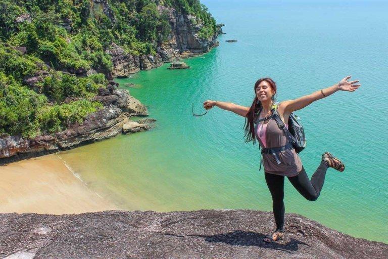 Telok Pandan Kecil Beach, Asia, Malaysia, Borneo, Sarawak, Bako National Park, Bako, Jungle, Rainforest