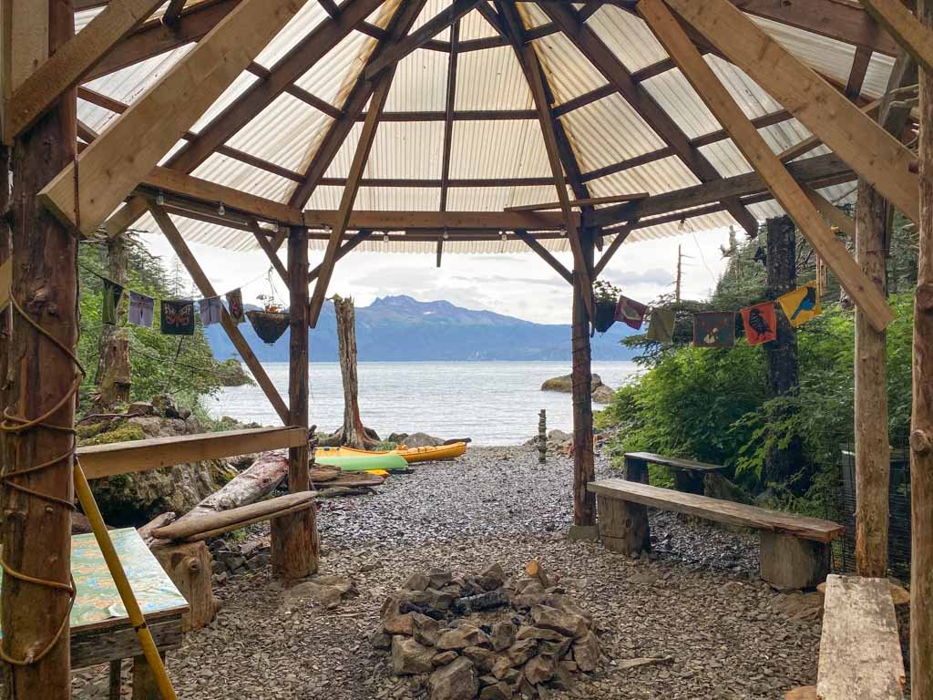 Kayaker's Cove, Kayaker's Cove Hostel, gulf of Alaska, Alaska, resurrection bay, kenai fjords, kenai Fjords national park