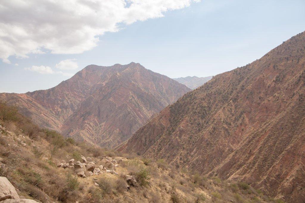 Shurubod Pass, Tajikistan, GBAO, Khatlon