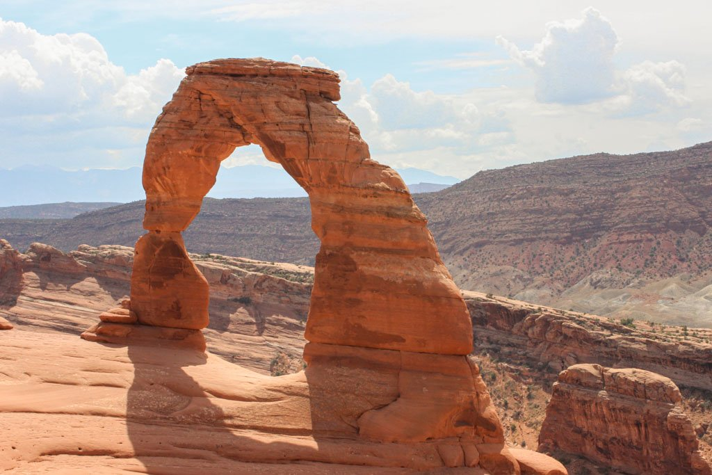 Delicate Arch, Utah Arch, Arches National Park, Utah