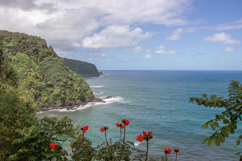 Kalaloa Point, Honomanu, Road to Hana, Hana Highway, Maui, Hawaii