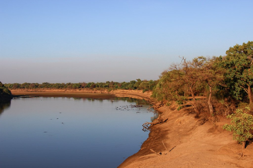 Luangwa River, South Luangwa, South Luangwa National Park, Zambia, Africa
