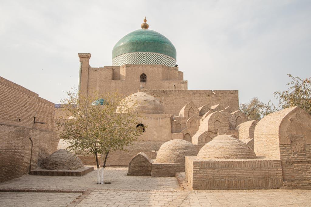 Sayid Alauddin Mausoleum, Khiva, Uzbekistan