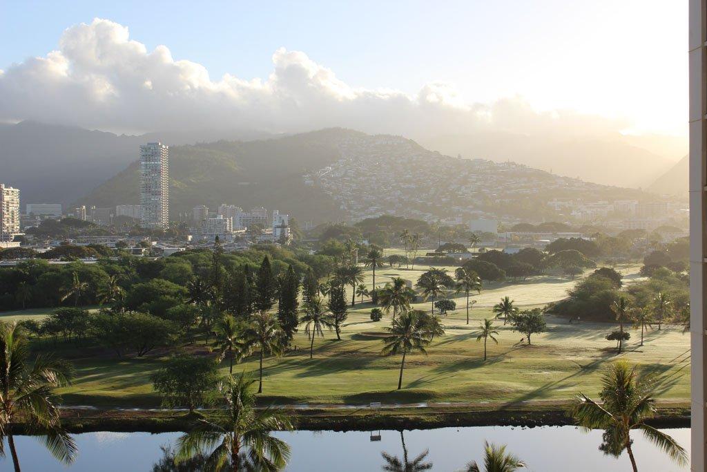 Ala Wai, Ala Wai Canal, Waikiki, Oahu, Hawaii