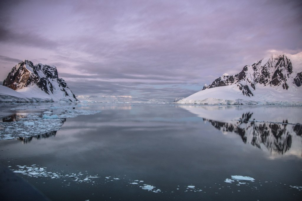 Deloncle Bay, Lemaire Channel, Antarctica, Loubat Point, Booth Island