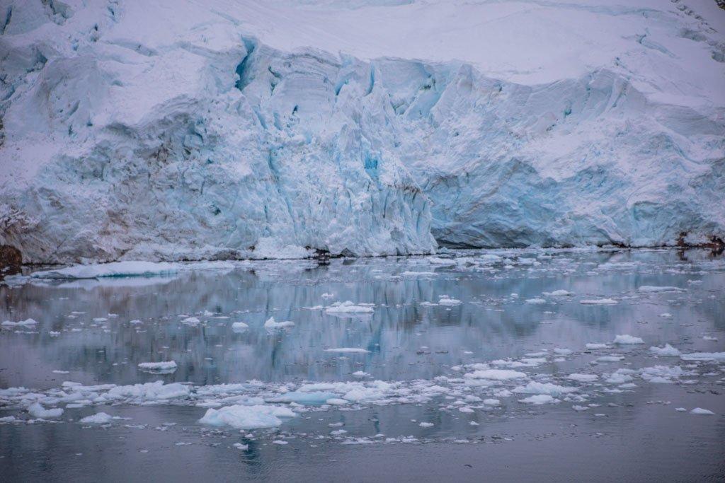 Hotine Glacier, Deloncle Bay, Lemaire Channel, Antarctica