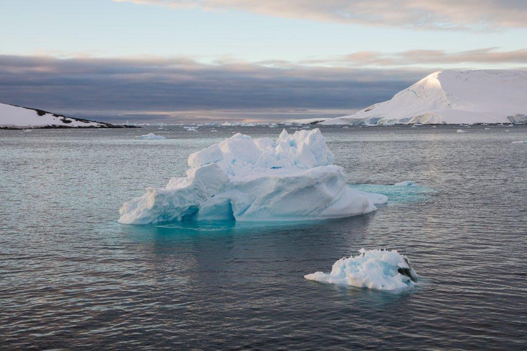 Iceberg, Hovgaard Island,  Pleneau Island, Girard Bay, Lemaire Channel, Antarctica