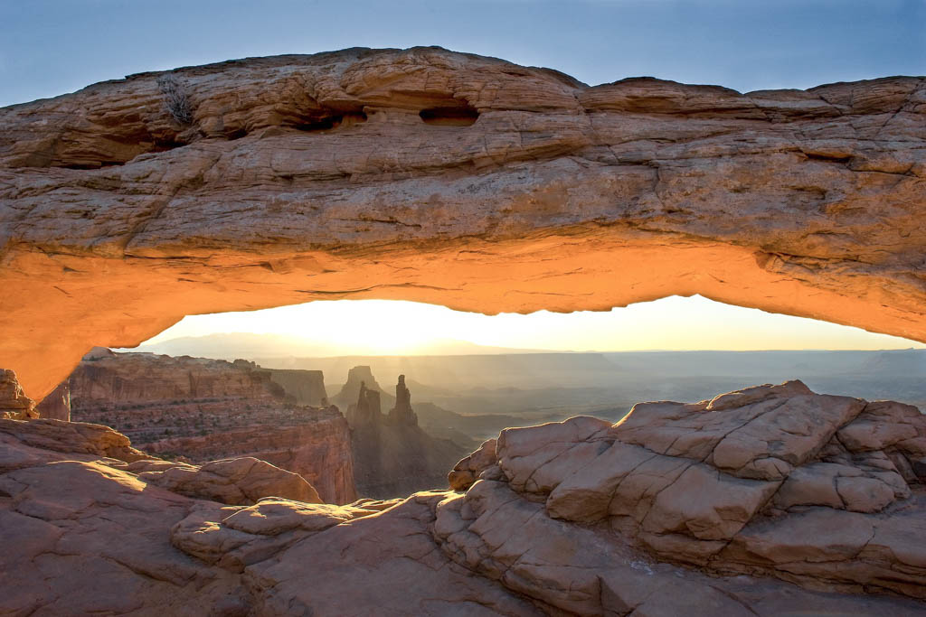 Mesa Arch, Island in the Sky, Canyonlands National Park, Utah