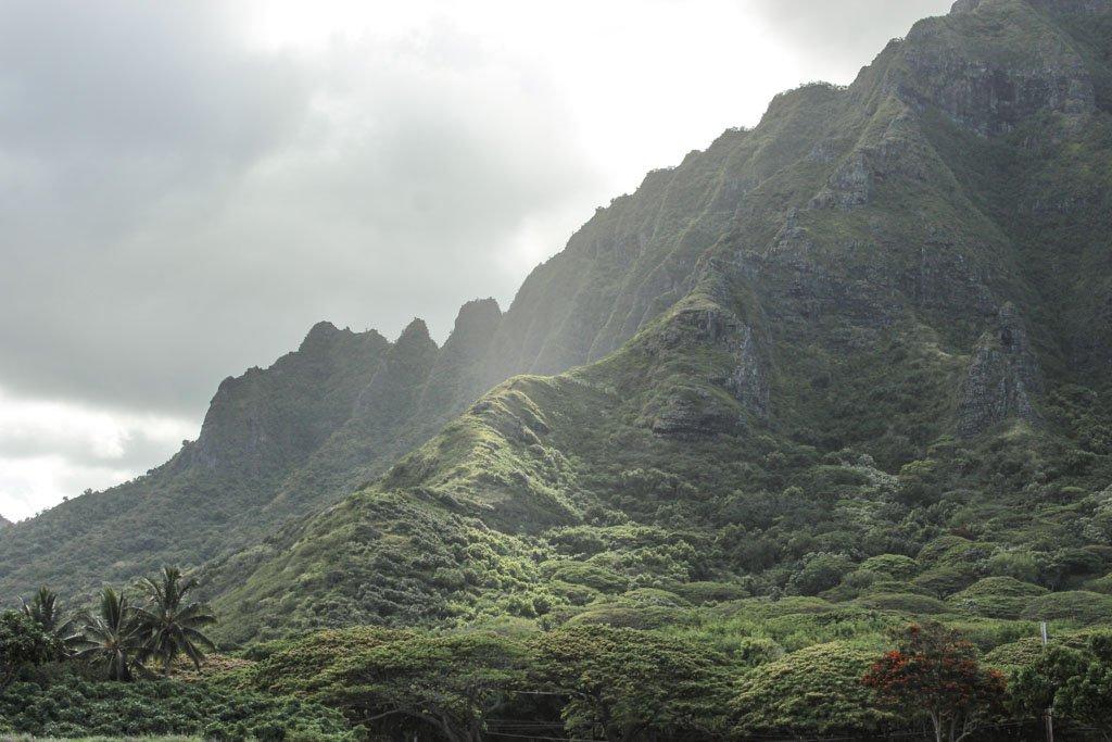 Kualoa, Oahu, Hawaii, Kualoa Ranch
