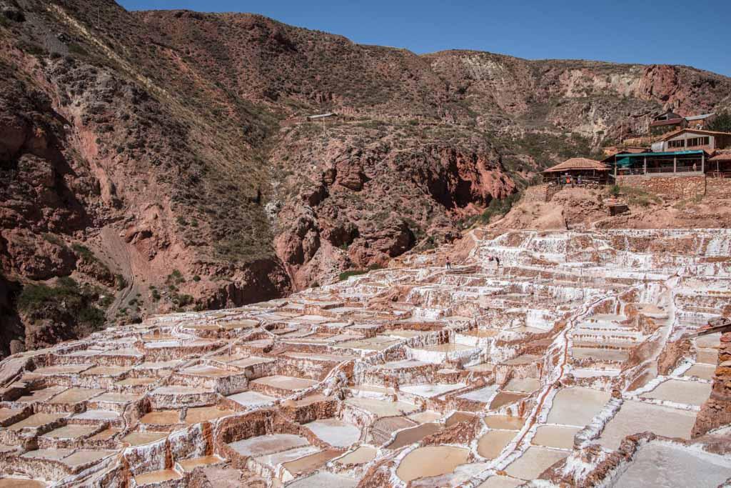 Maras, Maras Salt Mine, Sacred Valley, Peru, salt pond, salt pan, South America