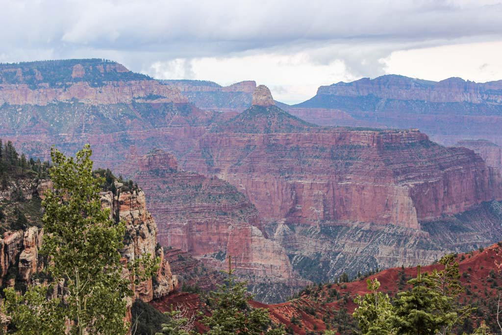 Mount Hayden, Point Imperial, Grand Canyon North Rim, Arizona