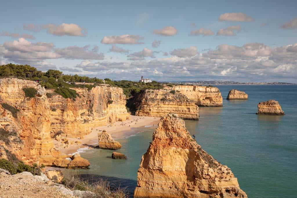 Praia de Rocha, Portimão, Algarve, Portugal