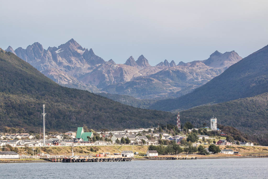 Puerto Williams, Navarino, South America Island, Chile, Southernmost town in the world, Isla Navarino, Dientes de Navarino