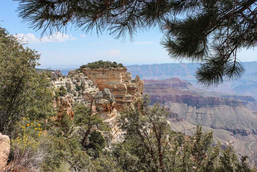 Roosevelt Point, Grand Canyon North Rim, Arizona, Roosevelt Point Grand Canyon, Roosevelt Point Arizona