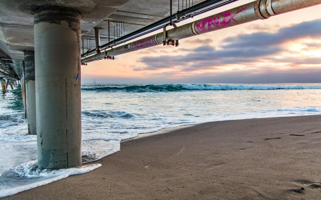 Venice Beach, Los Angeles, California, Venice Beach Pier