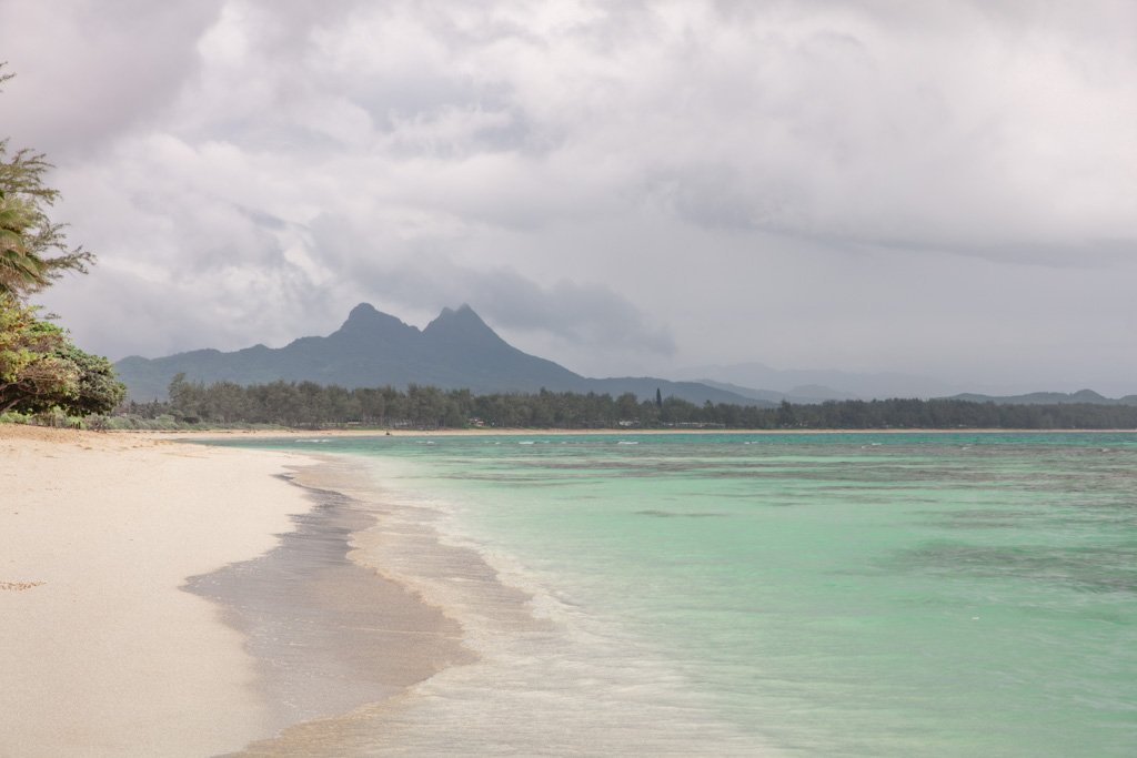 Waimanalo Beach, Oahu, Hawaii, Waimanalo Bay, Waimanalo