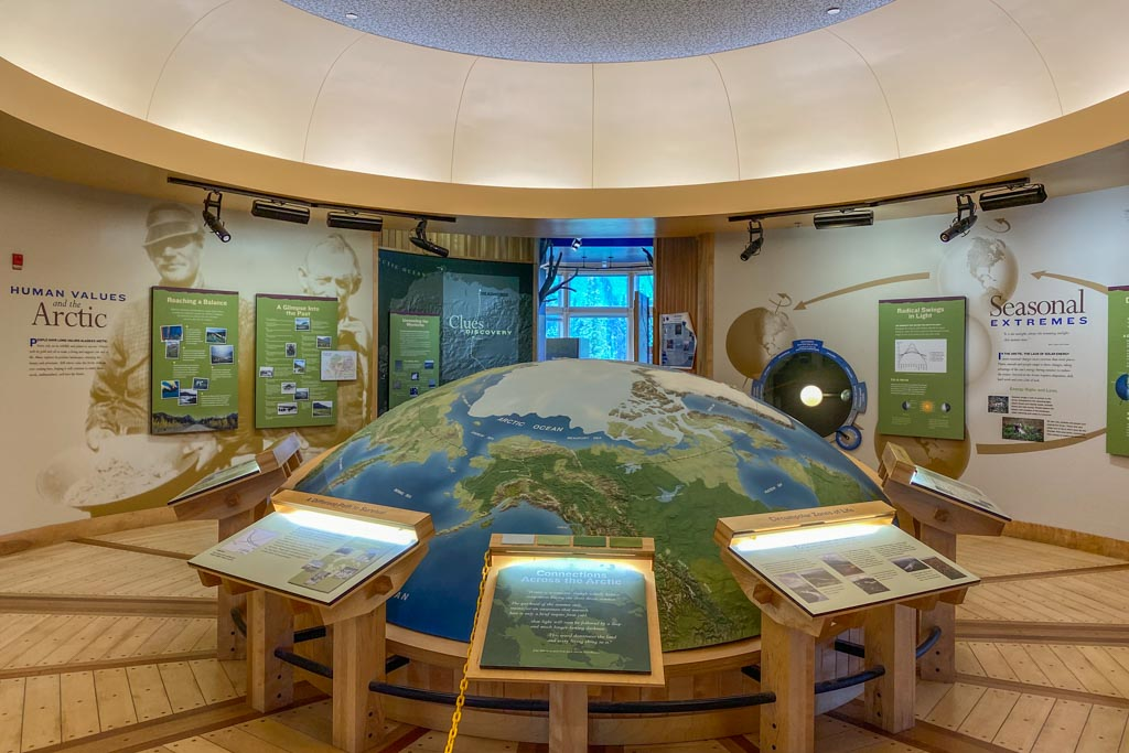 Arctic Interagency Visitor Center, Coldfoot, Alaska