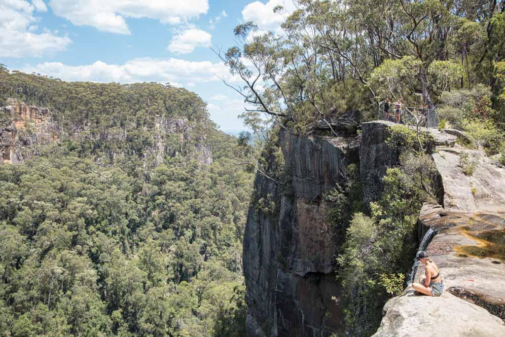 Belmore Falls, Barrengarry Creek, Illawarra, New South Wales, Australia