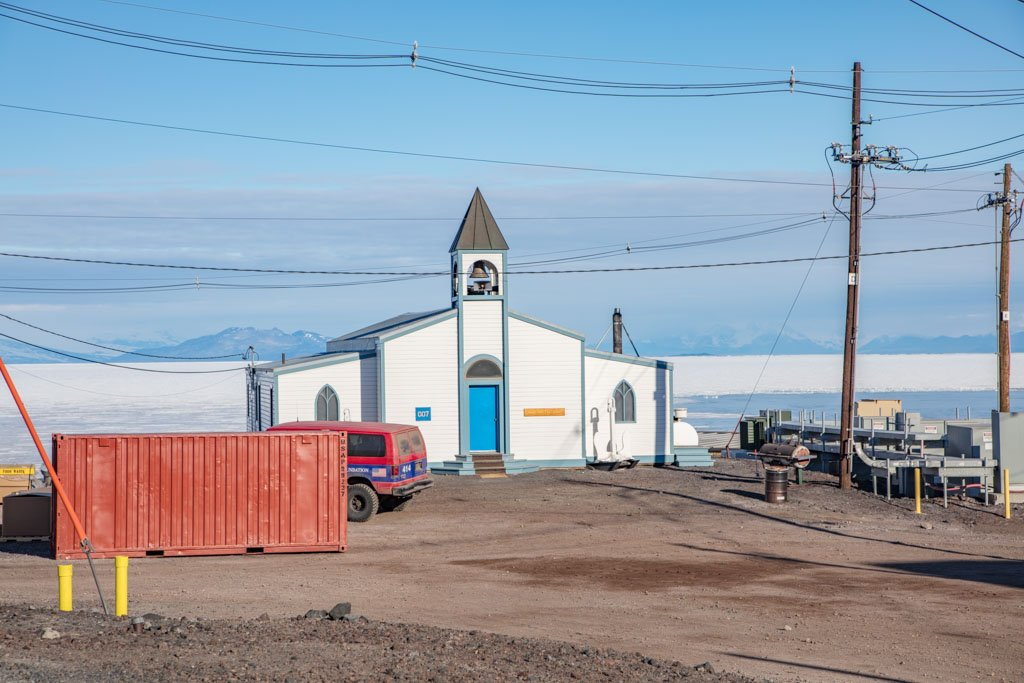 Chapel of Snows, McMurdo Station, Ross Island, Antarctica, Ross Island