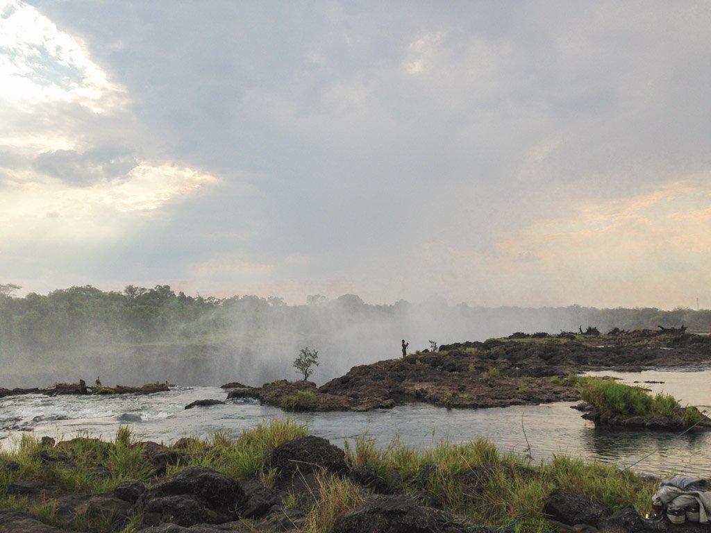 Devil's Pool, Livingston Island, Victoria Falls, Zambia