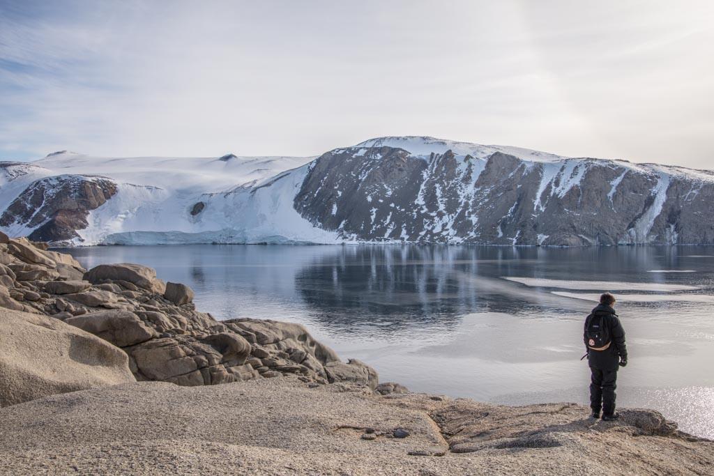 Gerlache Inlet, Mario Zucchelli Station, Terra Nova Bay, Antarctica