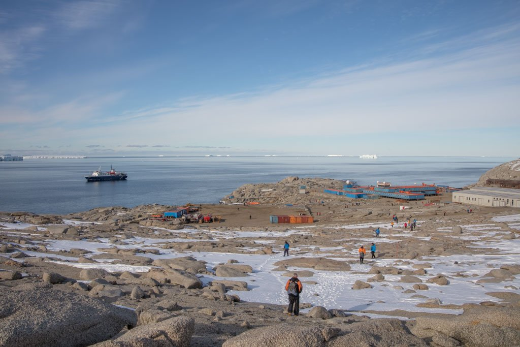Mario Zucchelli Station, Terra Nova Bay, Antarctica