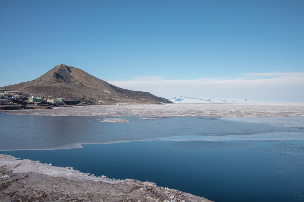 Observation Hill, Ross Island, Antarctica