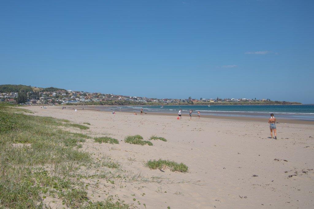 Seven Mile Beach, Gerroa, New South Wales, Australia