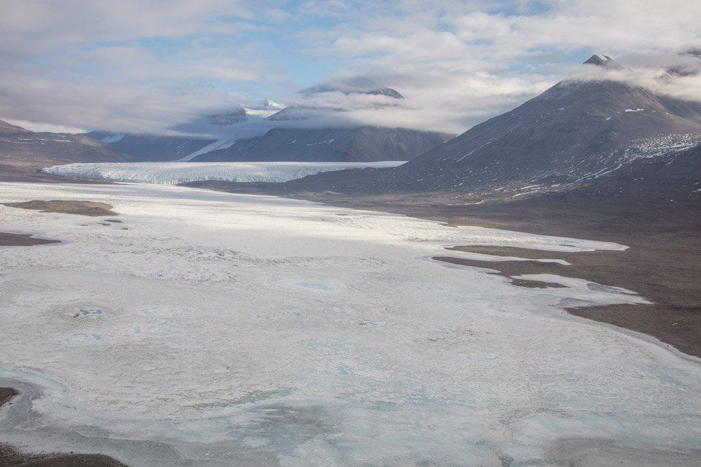 Taylor Glacier, Taylor Dry Valley, McMurdo Dry Valleys, Antarctica