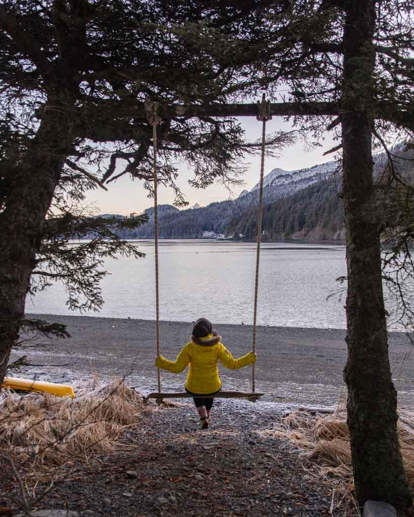 Kasitsna Bay, Between Beaches, MacDonald Spit, Alaska