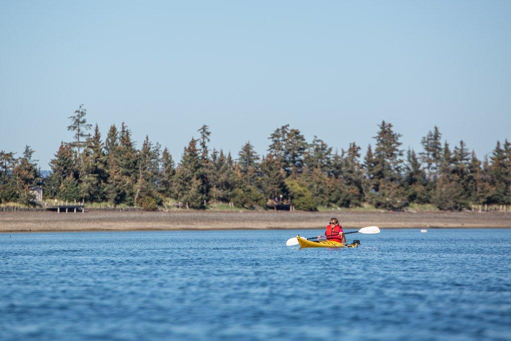 Kayaking, Kayaking Kasitsna Bay, Kayaking MacDonald Spit, MacDonald Spit, Kachemak Bay, Kasitsna Bay, Kenai Peninsula, Alaska