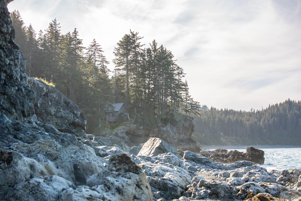 MacDonald Spit, Kachemak Bay, Kasitsna Bay, Kenai Peninsula, Alaska
