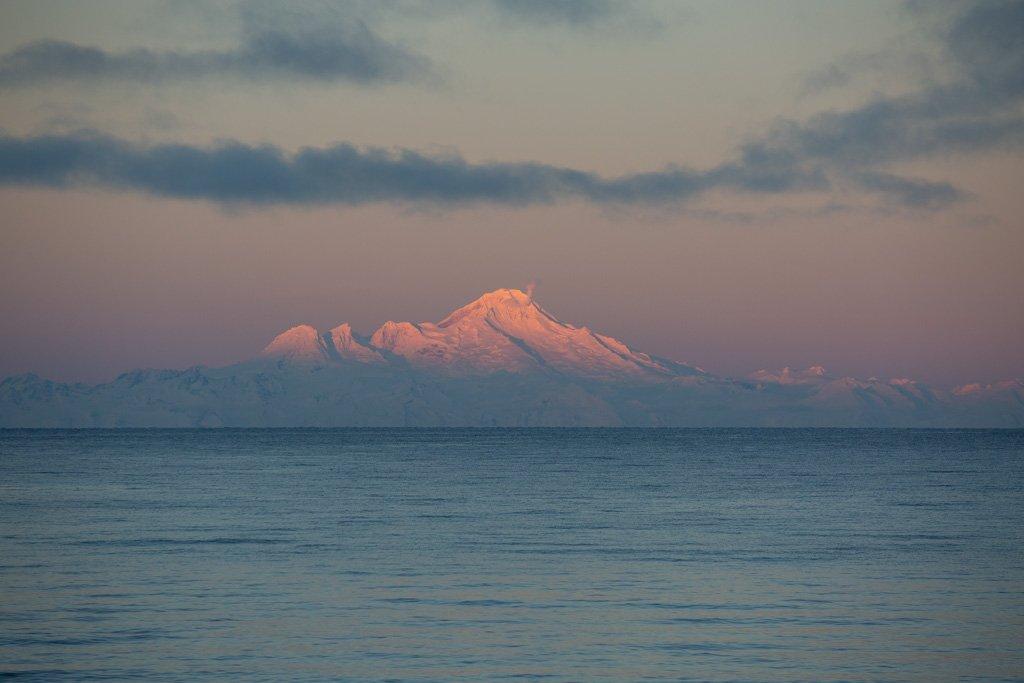 Mount Illiamna, Kachemak Bay, Cook Inlet, Alaska Range, Alaska