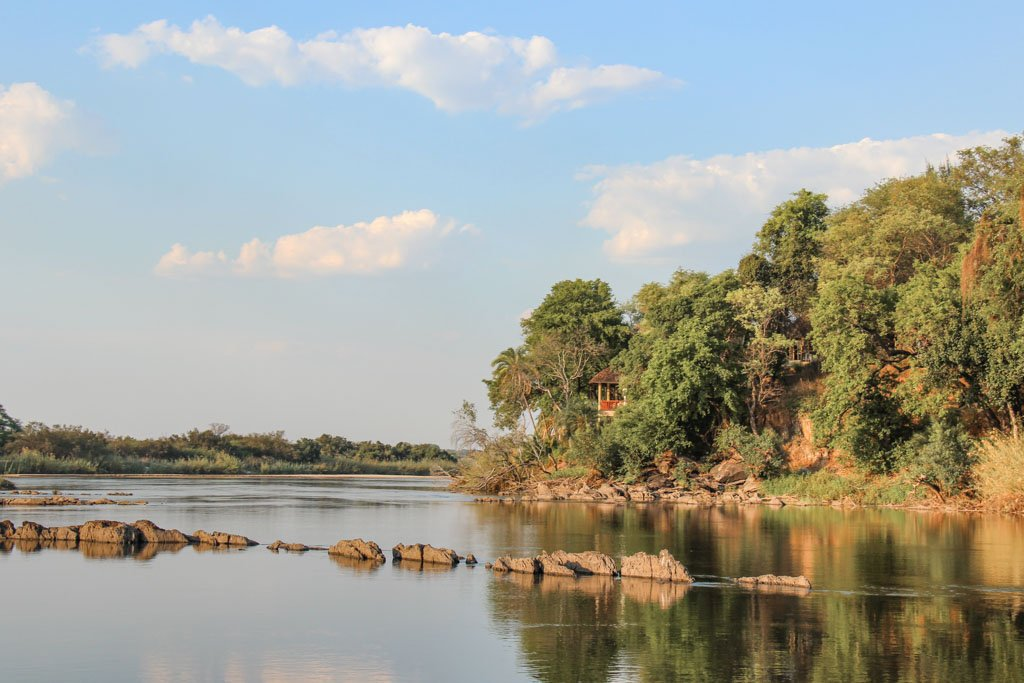 Divava Okavango Lodge & Spa, Okavango River, Mahango Game Reserve, Bwabwata National Park, Caprivi Strip, Namibia