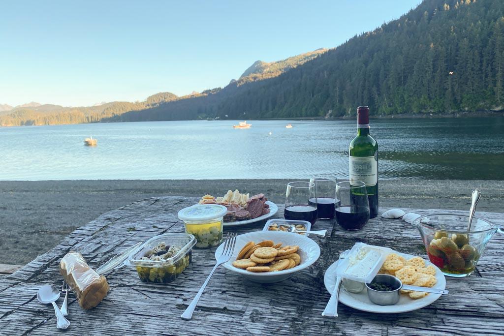 Kasitsna Bay, Between Beaches, MacDonald Spit, Kachemak Bay, Kasitsna Bay, Kenai Peninsula, Alaska