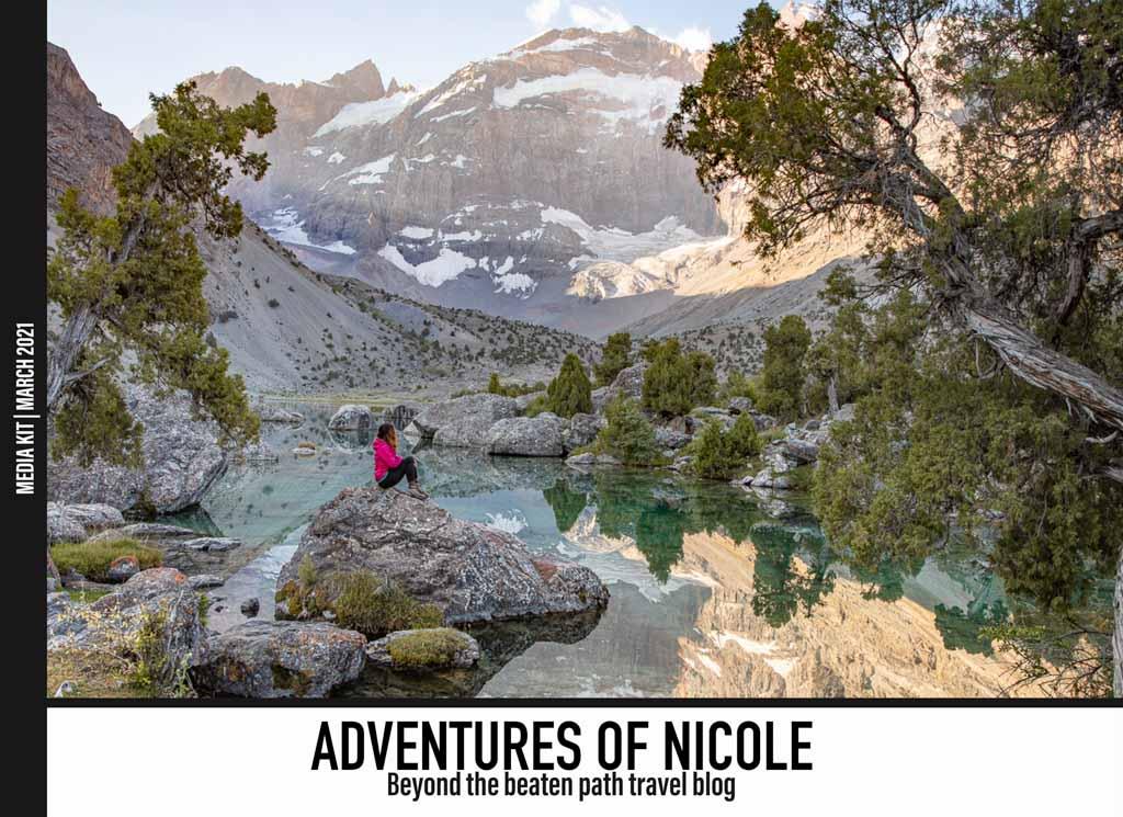 March 2021 Adventures of Nicole Media Kit