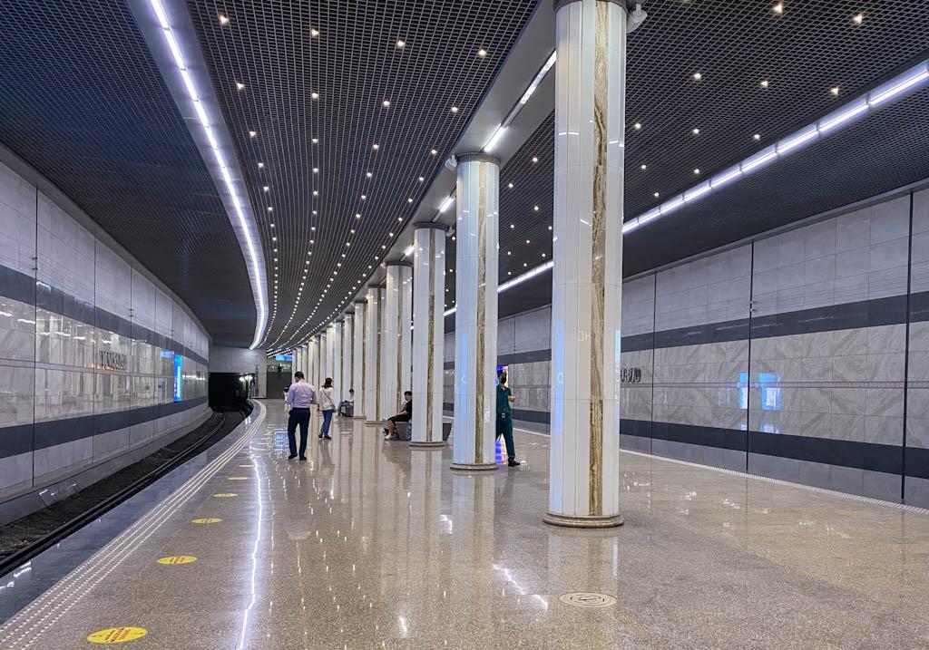 Yunusobod Station, Tashkent Metro, new Tashkent metro station
