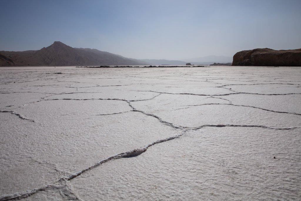 Akhkon Salt Falt, Buloq Salt Flat, Asht, Tajikistan