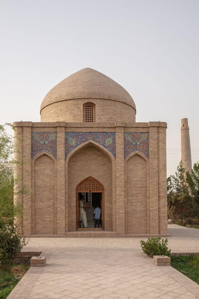 Alisher Navoi Mausoleum, Herat, Afghanistan, Alisher Navoi Mausoleum Herat