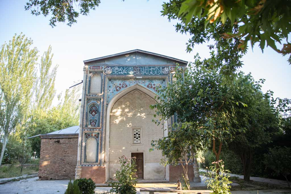 Hazraji Maydoni Azam Mausoleum, Sary Mazor Complex, Istaravshan, Tajikistan