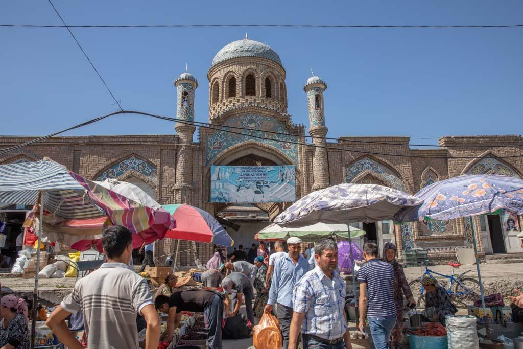 Istaravshan bazaar, Istaravshan, Tajikistan