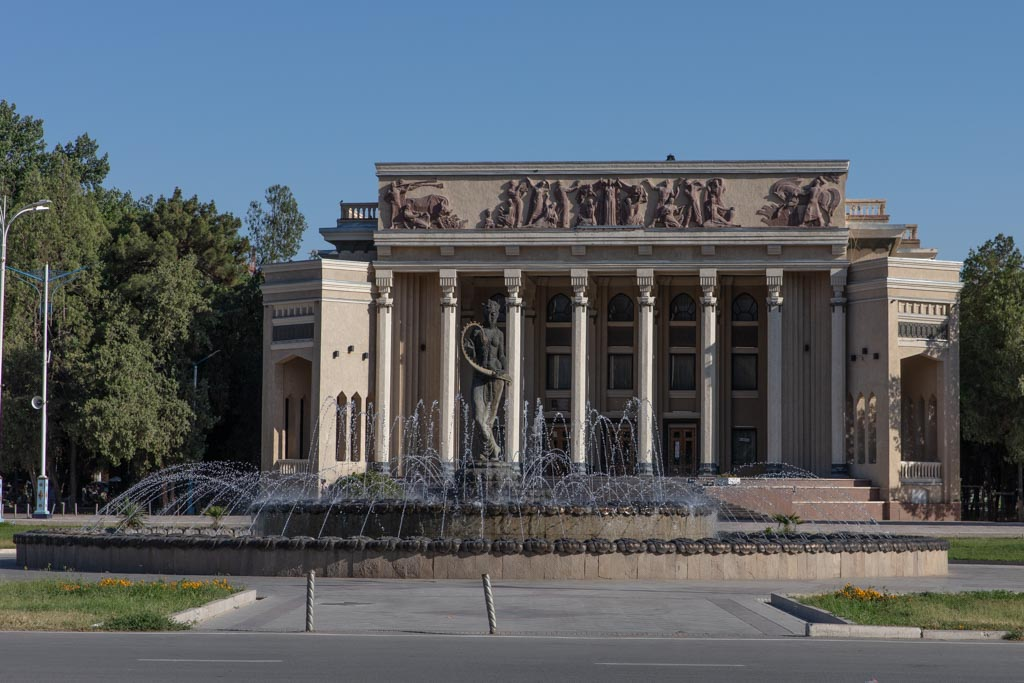 Khujand Theatre, Khujand, Tajikistan