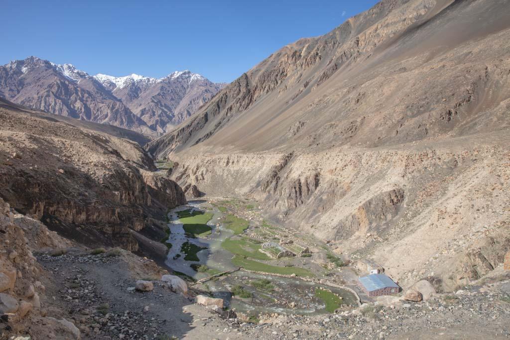 Madiyan Valley Hot Springs, Tajikistan