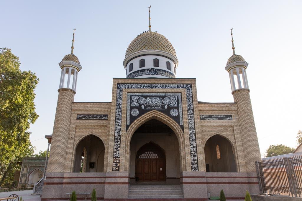New Sary Mazor Mosque, Sary Mazor Complex, Istaravshan, Tajikistan